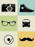Hipster Mix Poster