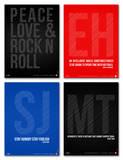 Inspiration Phrase Poster Set III