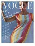 Vogue - July 1961 Reproduction d'art par Bert Stern