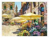 Siena Flower Market Reproduction d'art par Howard Behrens