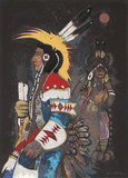 Crow Dancers at Midnight