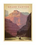 Parc national du Grand Canyon Reproduction d'art par Anderson Design Group