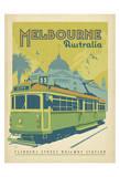 Melbourne, Australie Reproduction d'art par Anderson Design Group