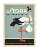 Stork Delivery Service (Blue)
