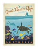 Great Barrier Reef, Australia Reproduction d'art par Anderson Design Group