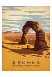 Arches National Park, Utah Reproduction d'art par Anderson Design Group