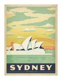 Sydney, Australie Reproduction d'art par Anderson Design Group