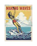 Making Waves Soaking Up The Sun!