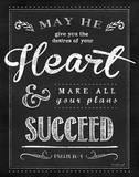 Chalkboard Psalm 20