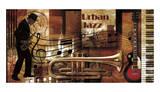 Urban Jazz Reproduction d'art par Paul Robert