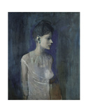 Girl in a Chemise  c 1905