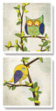 Branching Out II Tableau multi toiles par Tandi Venter