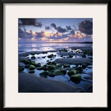 Sunset over Rock Pool  Strandhill  County Sligo  Connacht  Republic of Ireland  Europe