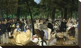 Music in the Tuileries  1862