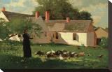 Farmyard Scene  c 1874