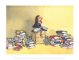 Matilda Reproduction d'art par Quentin Blake