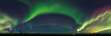 Strong Aurora Activity  and Venus and Jupiter Over Lapland