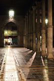 The Venice Fish Market at Night