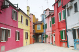 Colorful Homes in a Very Clean  Quaint Village