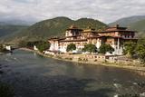 The Punakha Dzong  Also Known As Pungtang Dechen Photrang Dzong