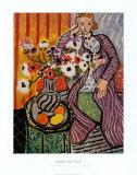 Purple Robe Reproduction d'art par Henri Matisse