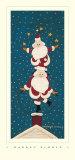 Juggling Santas