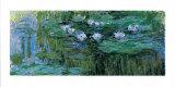 Les Nymphéas Reproduction d'art par Claude Monet
