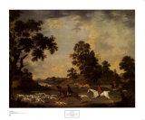 Chasse à courre au renard Reproduction d'art par James Seymour