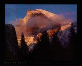 Half Dome  Winter Sunset  Yosemite
