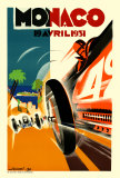 Monaco Grand Prix, 1931 Reproduction d'art