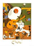 Intérieur hollandais I Reproduction d'art par Joan Miró