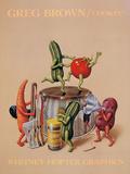 Cuisine Reproduction d'art par Greg Brown