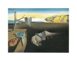 La persistance de la mémoire, vers 1931 Reproduction d'art par Salvador Dalí