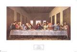 La Cène, 1497 Reproduction d'art par Leonardo Da Vinci