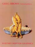 Banane, je t'ai dans la peau Reproduction d'art par Greg Brown