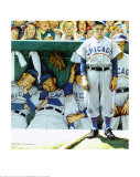 Dugout Reproduction d'art par Norman Rockwell