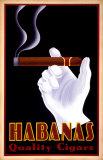 Habanas Quality Cigars Reproduction d'art par Steve Forney