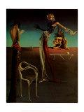 Femme à tête de roses Reproduction d'art par Salvador Dalí
