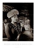 Ella Fitzgerald Reproduction d'art par William P. Gottlieb