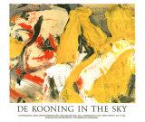 In the Sky Reproduction d'art par Willem De Kooning