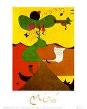 Portrait de Mme Moulin Reproduction d'art par Joan Miró
