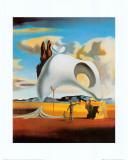 Vestiges atavique après la pluie,1934 Reproduction d'art par Salvador Dalí