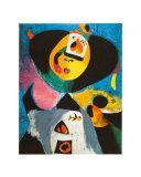 Portrait n°1 Reproduction d'art par Joan Miró