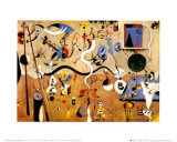 Carnival of Harlequin Reproduction d'art par Joan Miró