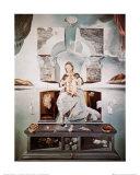 La madone de Port Lligat Reproduction d'art par Salvador Dalí