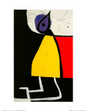 Dona En La Nit Reproduction d'art par Joan Miró