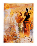 Le torero hallucinogène, vers 1970 Reproduction d'art par Salvador Dalí
