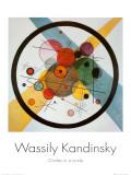 Cercle dans un cercle Reproduction d'art par Wassily Kandinsky