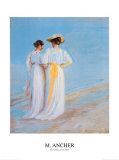 Two Ladies on the Beach
