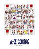 La cuisine de A à Z Reproduction d'art par Nicola Streeten